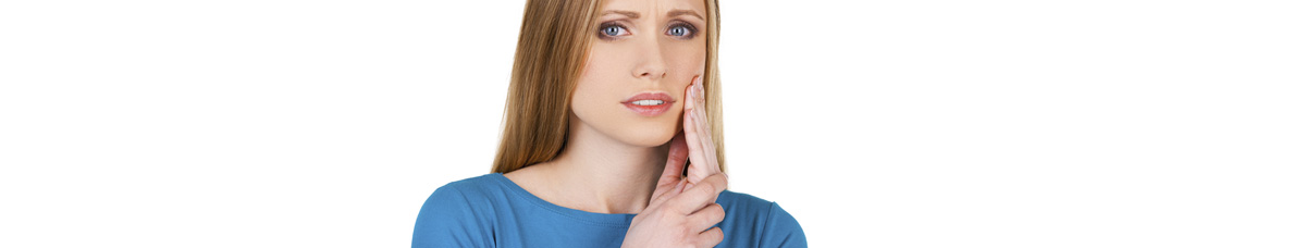 Cavity Protection Toothpaste Oakville -  Woman suffering from toothache